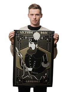 Plakat Grubiorz