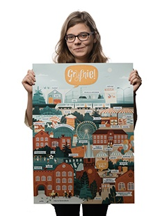 Plakat Gryfnie