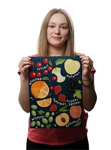 Plakat owoce