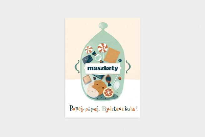 Plakat Maszkety