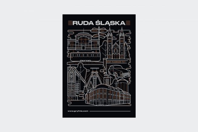 Plakat Ruda śląska
