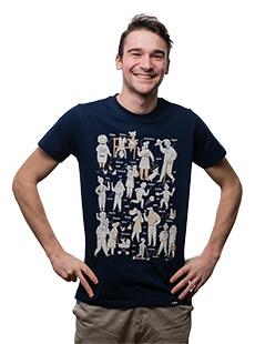 Koszulka ze ślonskimi mianami