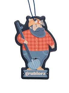 Pachnidło do auta Grubiorz