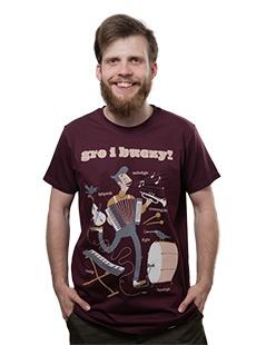 Koszulka Gro i buczy