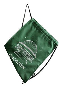Zielony miech na plecy Planetarium
