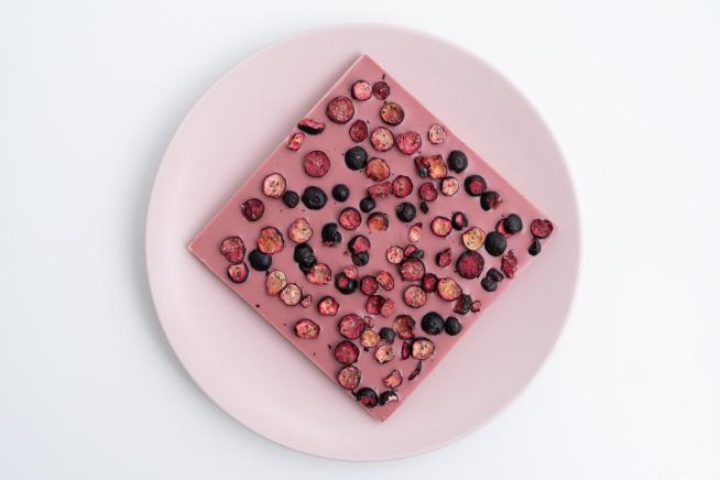 Szekulada rubinowo z jagódkami