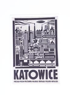 Pocztówka Katowice
