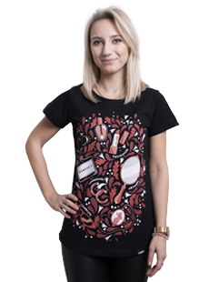 Koszulka z babskimi klamorami