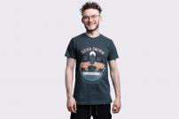 Koszulka Dziko Świnia