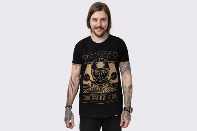 Koszulka Grubiorz złoty