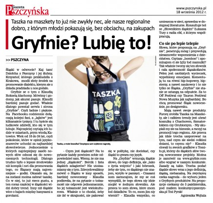 Gryfnie - Gazeta Pszczyńska
