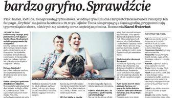 Gryfnie we pszczyńskim Dzienniku Zachodnim