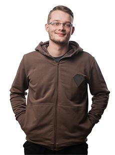 bluza z bryłkom wongla