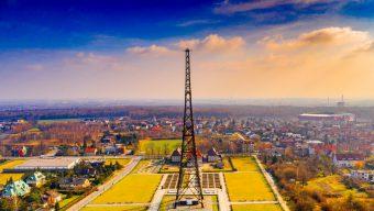 Radiostacja w Gliwicach  – ślonsko Wieża Eiffla